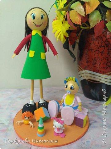 Куклы из фоамрана фото 2