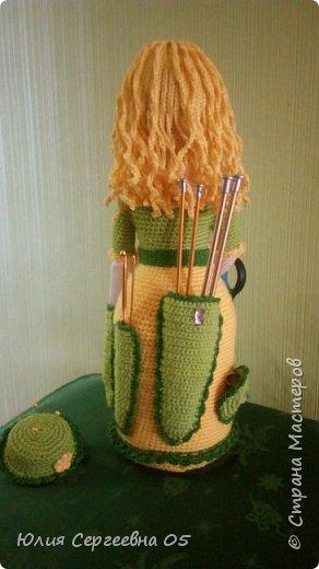 Кукла - помощница для рукодельницы. фото 2