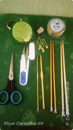 Кукла - помощница для рукодельницы. фото 3