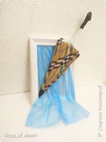 """Осень вдохновляет. Учит доченька песенку, а там текст: """"если выйдете гулять, не забудьте зонтик взять"""".. И вот решили мы сделать поделку в виде зонта.  фото 6"""
