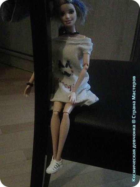 Сегодня сшила платье для куклы. фото 7