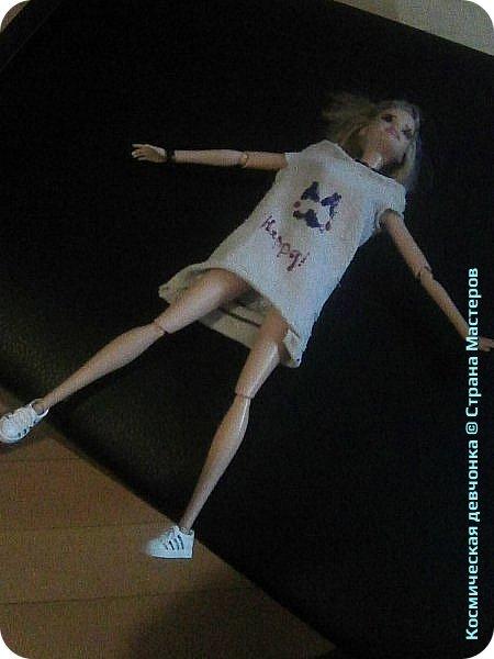 Сегодня сшила платье для куклы. фото 2