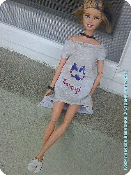 Сегодня сшила платье для куклы. фото 3