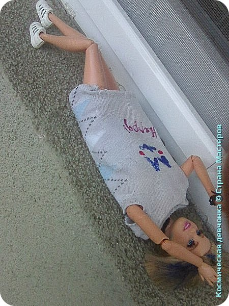Сегодня сшила платье для куклы. фото 9