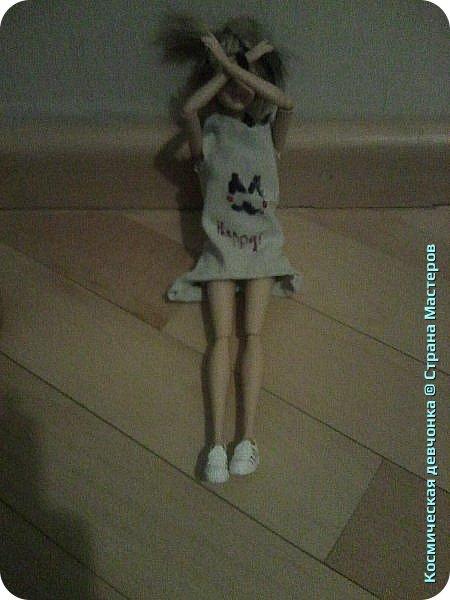 Сегодня сшила платье для куклы. фото 11