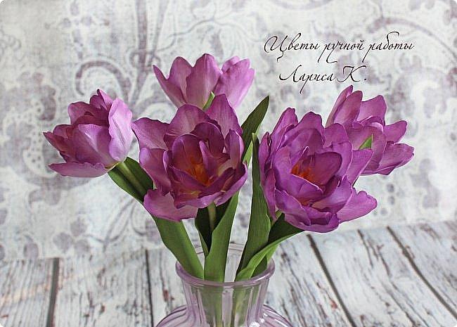 Когда солнышко радует все реже, тучки все чаще, а на душе весна !Просто необходимы тюльпаны!!!! Много тюльпанов!!! Для самого чудесного настроения на всю зиму! Да что там на зиму-на года!!!  фото 2