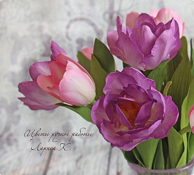 Когда солнышко радует все реже, тучки все чаще, а на душе весна !Просто необходимы тюльпаны!!!! Много тюльпанов!!! Для самого чудесного настроения на всю зиму! Да что там на зиму-на года!!!  фото 3