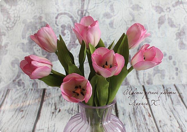 Когда солнышко радует все реже, тучки все чаще, а на душе весна !Просто необходимы тюльпаны!!!! Много тюльпанов!!! Для самого чудесного настроения на всю зиму! Да что там на зиму-на года!!!  фото 4