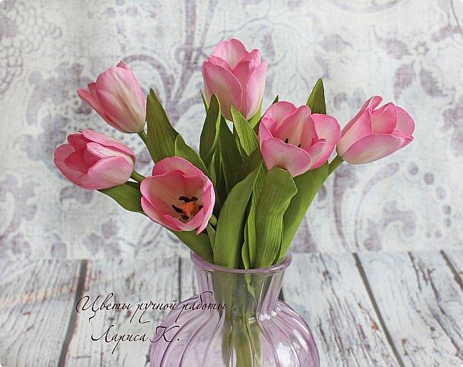 Когда солнышко радует все реже, тучки все чаще, а на душе весна !Просто необходимы тюльпаны!!!! Много тюльпанов!!! Для самого чудесного настроения на всю зиму! Да что там на зиму-на года!!!  фото 5