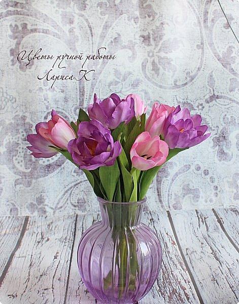 Когда солнышко радует все реже, тучки все чаще, а на душе весна !Просто необходимы тюльпаны!!!! Много тюльпанов!!! Для самого чудесного настроения на всю зиму! Да что там на зиму-на года!!!  фото 9