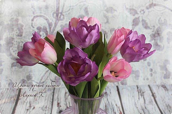 Когда солнышко радует все реже, тучки все чаще, а на душе весна !Просто необходимы тюльпаны!!!! Много тюльпанов!!! Для самого чудесного настроения на всю зиму! Да что там на зиму-на года!!!  фото 10