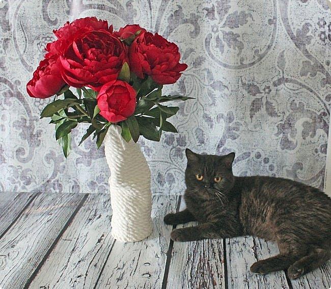 Букет красно-малиновых пионов. фото 6