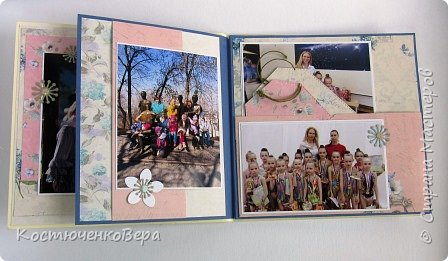 Альбом сделан в подарок ко дню рождения милой спортивной девушке. фото 7