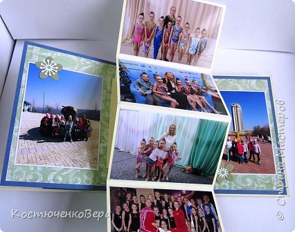 Альбом сделан в подарок ко дню рождения милой спортивной девушке. фото 8