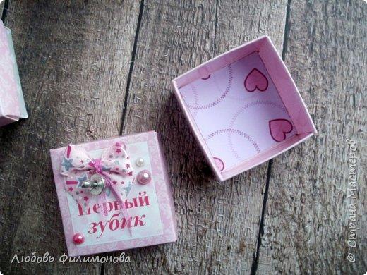 """Просто так сделала коробку """"Мамины сокровища"""" для девочки.  фото 4"""