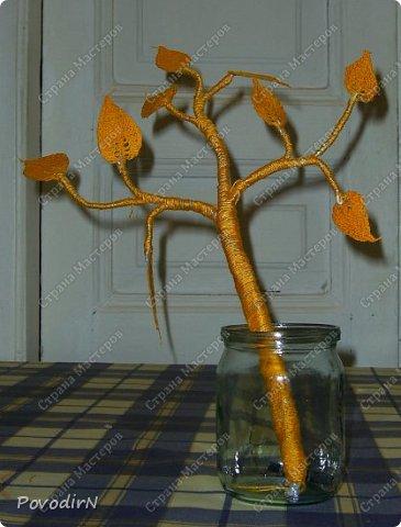 Листочки связала своим самым любимым способом вязания - тунисской вязкой. фото 9
