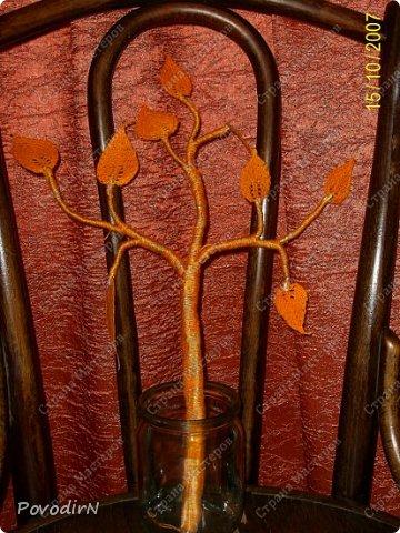 Листочки связала своим самым любимым способом вязания - тунисской вязкой. фото 10