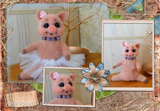 Свинка- балеринка.  фото 2