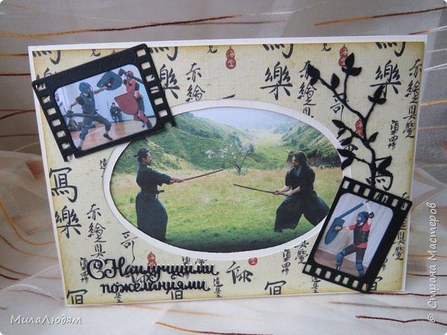 И это опять я, здравствуйте! Продолжение темы самураев, Японии и тямбары.  Тямбара - тренировочный имитатор меча. Предназначен для лёгких тренировочных спарингов по историческому фехтованию. Длинна - 90 см. Материалы: пластик, энергофлекс, чехол из плотной прорезиненой ткани. фото 8