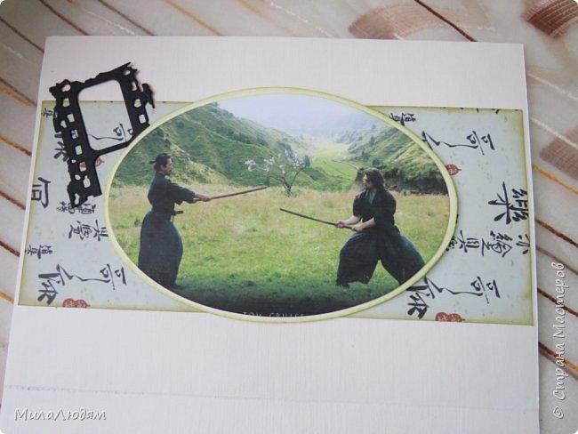И это опять я, здравствуйте! Продолжение темы самураев, Японии и тямбары.  Тямбара - тренировочный имитатор меча. Предназначен для лёгких тренировочных спарингов по историческому фехтованию. Длинна - 90 см. Материалы: пластик, энергофлекс, чехол из плотной прорезиненой ткани. фото 12
