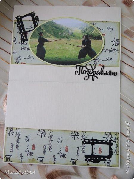 И это опять я, здравствуйте! Продолжение темы самураев, Японии и тямбары.  Тямбара - тренировочный имитатор меча. Предназначен для лёгких тренировочных спарингов по историческому фехтованию. Длинна - 90 см. Материалы: пластик, энергофлекс, чехол из плотной прорезиненой ткани. фото 14