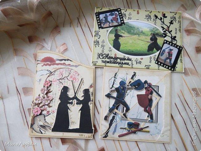 И это опять я, здравствуйте! Продолжение темы самураев, Японии и тямбары.  Тямбара - тренировочный имитатор меча. Предназначен для лёгких тренировочных спарингов по историческому фехтованию. Длинна - 90 см. Материалы: пластик, энергофлекс, чехол из плотной прорезиненой ткани. фото 19