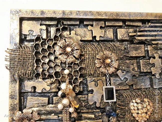 "Ключница ""Пчелинный рай"" фото 2"