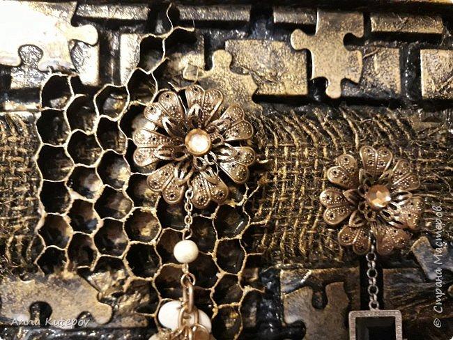 "Ключница ""Пчелинный рай"" фото 7"
