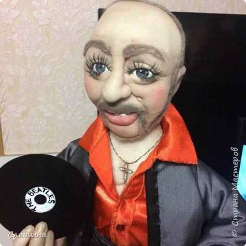 Битломан (портретная кукла) фото 2