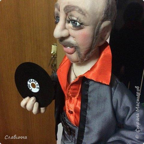 Битломан (портретная кукла) фото 4