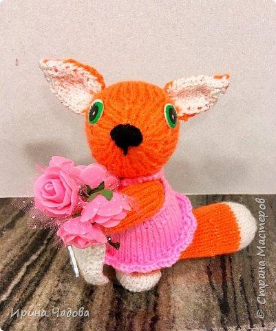 Рыжая Лисичка с розами. фото 3