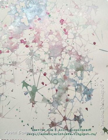 Всем привет!!!!! Когда были МК от Елены Моргун весь интернет пестрил такими альбомами. Я же свой альбомчик показываю только сейчас. Конечно живой МК-это незабываемые ощущения!!!!! 9 часов творчества, пролетели очень быстро. Столько впечатлений!!!! Поработала с красками - акварель Prima Watercolor Confections                                                            - чернила Prima Color Philosophy Dye Ink                                                            - воски Finnabair Art Alchemy Metallique Wax                                            от которых я была в таком восторге!!!!!                                                      Ну а теперь очень много фото!!!!! фото 30