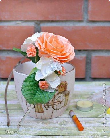 Цветочные ободки фото 5