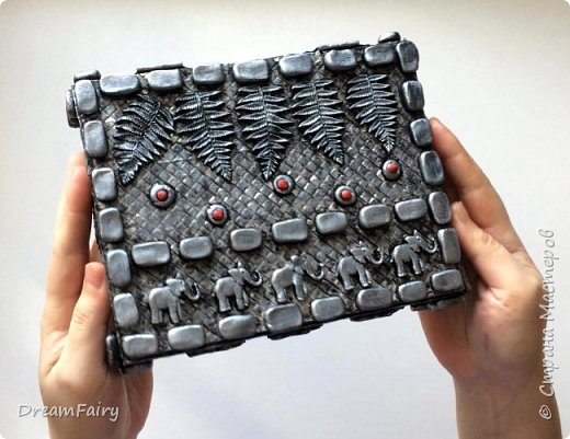 Шкатулка из картона своими руками Мастер-класс