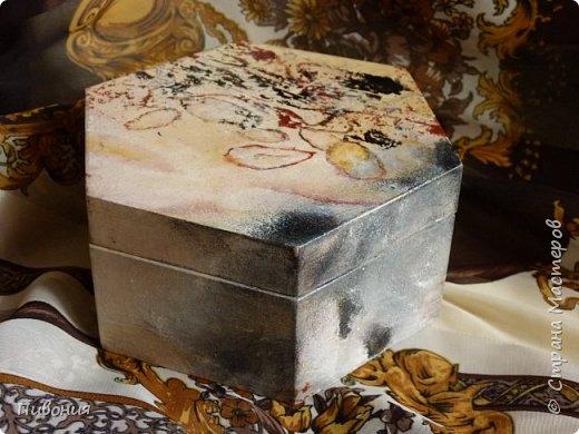 Акриловыми красками изображали камень, в данном случае одну из разновидностей яшмы... фото 1