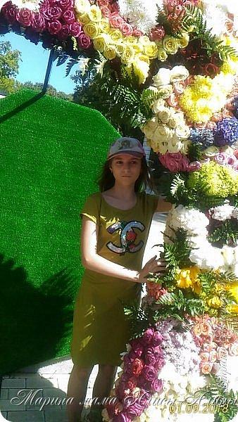 Восьмой международный фестиваль садов и цветов «Город-Сад» прошел в Воронеже с 30 августа по 2 сентября.Мы приехали в парк после первосентябрёвских линеек.  фото 2