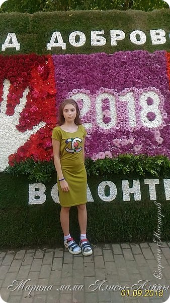 Восьмой международный фестиваль садов и цветов «Город-Сад» прошел в Воронеже с 30 августа по 2 сентября.Мы приехали в парк после первосентябрёвских линеек.  фото 4