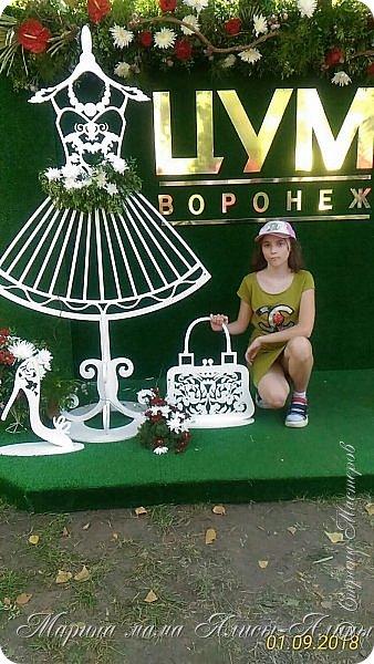 Восьмой международный фестиваль садов и цветов «Город-Сад» прошел в Воронеже с 30 августа по 2 сентября.Мы приехали в парк после первосентябрёвских линеек.  фото 22