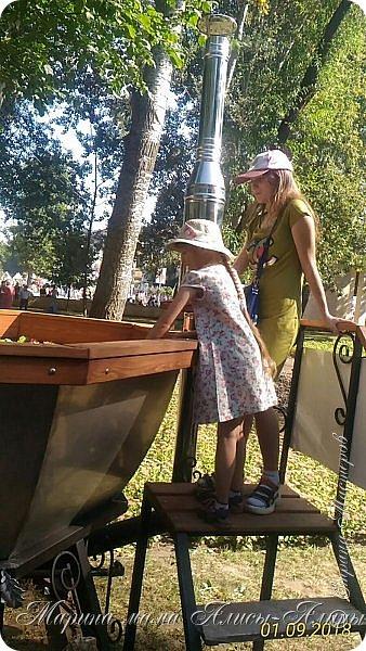 Восьмой международный фестиваль садов и цветов «Город-Сад» прошел в Воронеже с 30 августа по 2 сентября.Мы приехали в парк после первосентябрёвских линеек.  фото 40