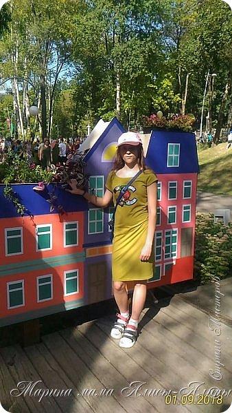Восьмой международный фестиваль садов и цветов «Город-Сад» прошел в Воронеже с 30 августа по 2 сентября.Мы приехали в парк после первосентябрёвских линеек.  фото 43