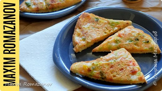 Идеальный рецепт завтрака. Вегетарианский тост из Индии