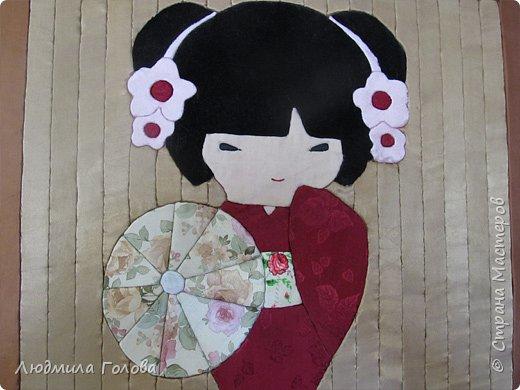 Панно Японка. фото 3
