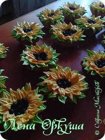 Пирожные корзинки фото 1