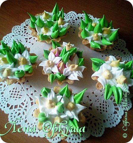 Пирожные корзинки фото 4