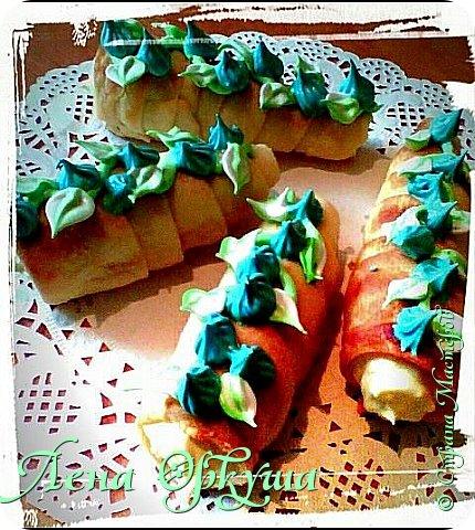 Пирожные корзинки фото 8