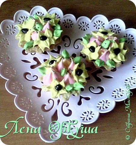 Пирожные корзинки фото 7
