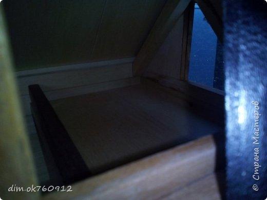 Это проект нового домика, на данный момент работа пока не совсем закончена. Ещё немного работы над наружными частями дома, а затем большая работа по внутреннему обустройству, а это мебель и прочие детали. По полному окончанию работ опубликую фото более подробные и лучшего качества. фото 7