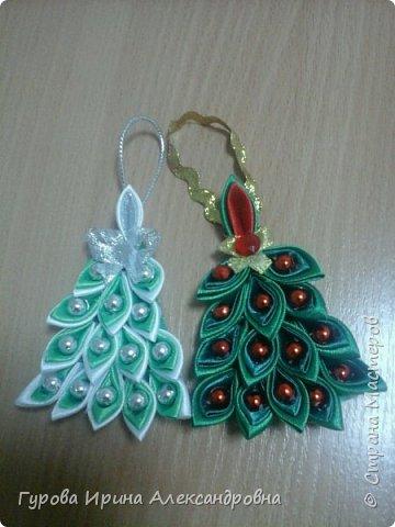 """Новогодние игрушки """"Ёлочки"""""""