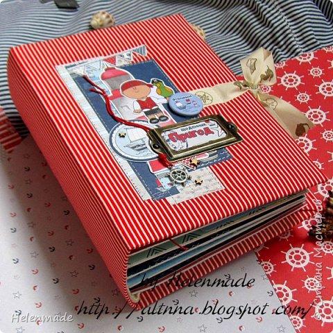 Пиратский морской фотоальбом для маленького мальчика. Оригинальный подарок. фото 8