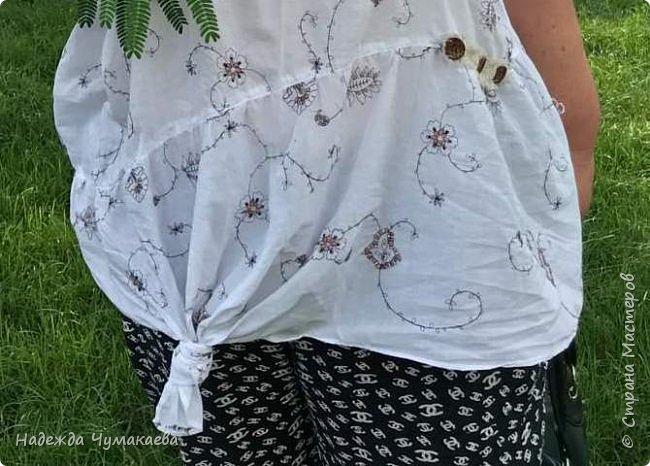 Нужна мне была х\б-шная блузка для поездки в жаркий Сочи  фото 5